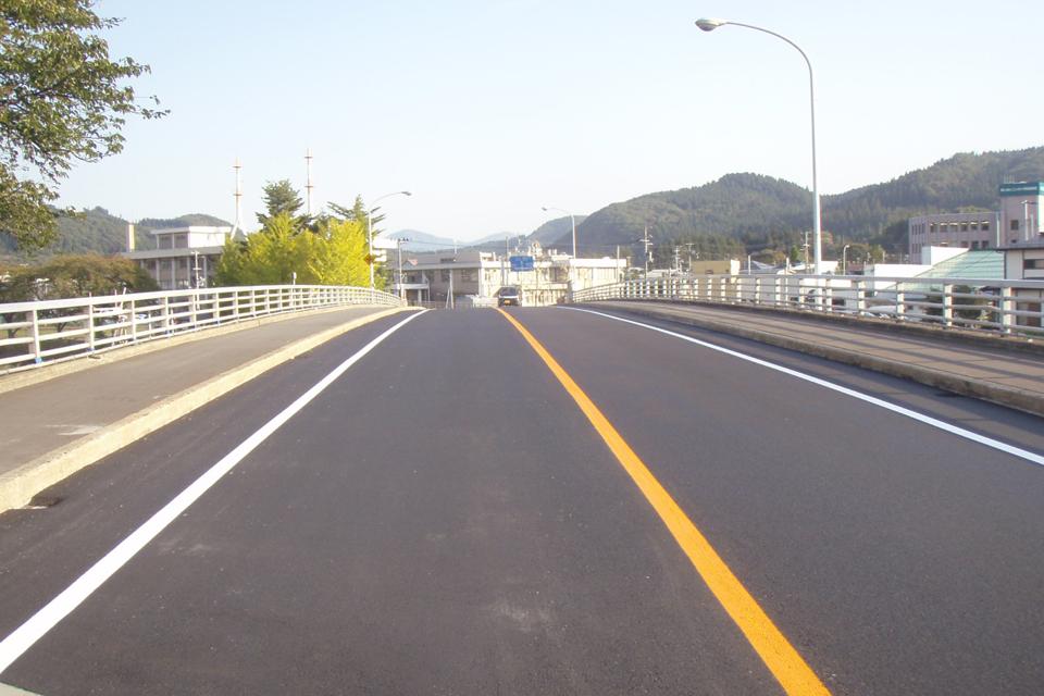 優良工事表彰:地方道路交付金事業(御所野安田線)【県】