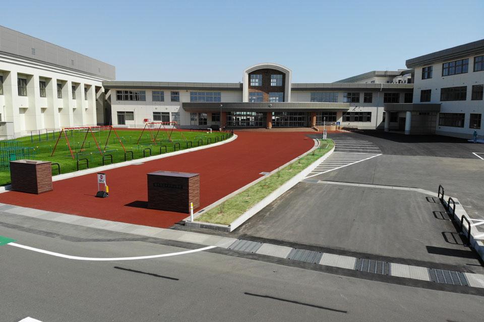 十文字小学校が完成しました