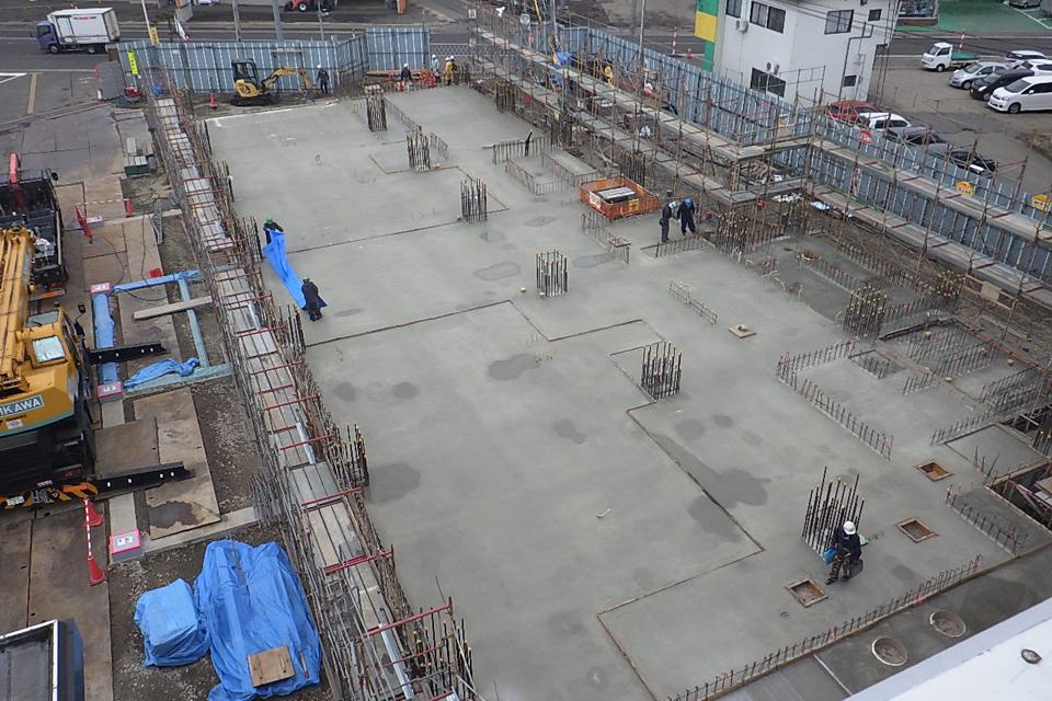 工事情報:横手警察署新築工事 vol.7