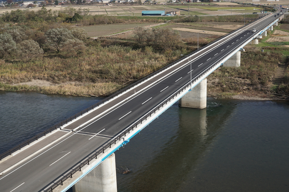 優良工事表彰:地方道路交付金工事(橋梁補修)FI57-10 (大上橋)【県】